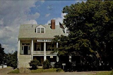 Original Army Headquarters House - Fort Scott, Kansas KS Postcard