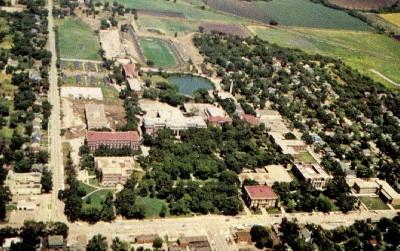 Kansas State Teachers College Campus - Emporia Postcard