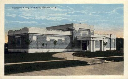 Elmwood Abbey - Chanute, Kansas KS Postcard
