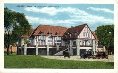 Country Club - Hutchinson, Kansas KS Postcard