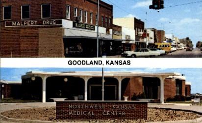 Northwest Medical Center - Goodland, Kansas KS Postcard