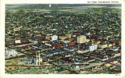 Hutchinson, Kansas, KS Postcard