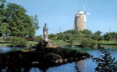 Old Dutch Mill - Wamego, Kansas KS Postcard