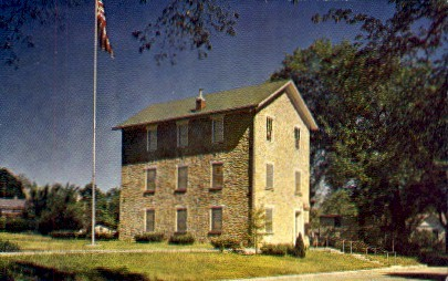 The Old Castle, Baker University - Baldwin City, Kansas KS Postcard