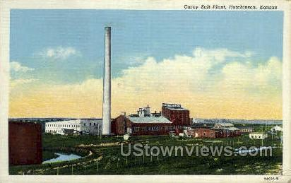 Carey Salt Co - Hutchinson, Kansas KS Postcard