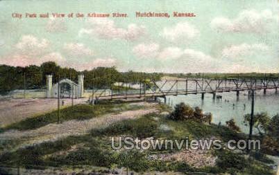 City Park - Hutchinson, Kansas KS Postcard