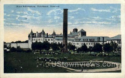 State Reformatory - Hutchinson, Kansas KS Postcard
