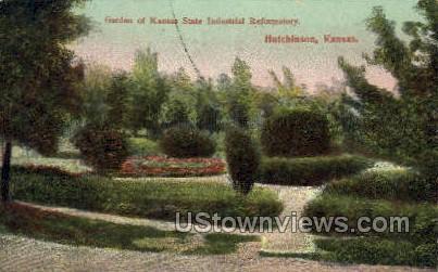 State Industrial Reformatory - Hutchinson, Kansas KS Postcard