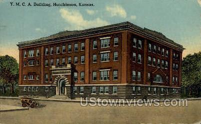 YMCA Building - Hutchinson, Kansas KS Postcard