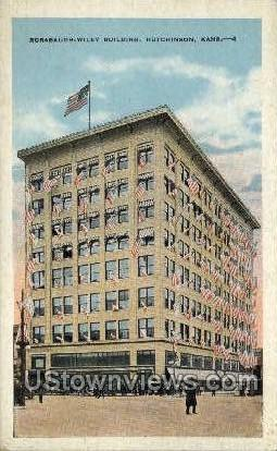 Rorabaugh-Wiley Bldg - Hutchinson, Kansas KS Postcard