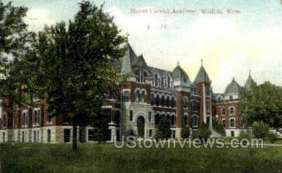 Mount Carmel Academy - Wichita, Kansas KS Postcard