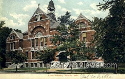 Lewis Academy - Wichita, Kansas KS Postcard