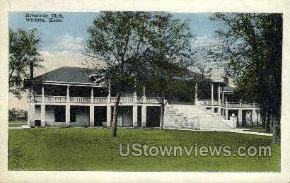 Riverside Club - Wichita, Kansas KS Postcard