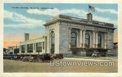 Union Station - Wichita, Kansas KS Postcard