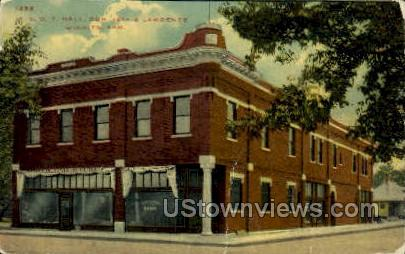 I.O.O.F Hall 18th & Lawrence - Wichita, Kansas KS Postcard