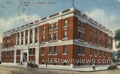 YMCA Building - Wichita, Kansas KS Postcard