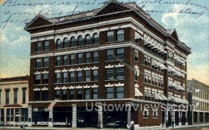 Barnes Block - Wichita, Kansas KS Postcard