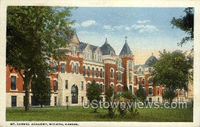 Mt Carmel Academy - Wichita, Kansas KS Postcard