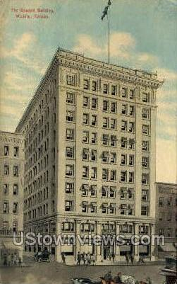 Beacon Bldg - Wichita, Kansas KS Postcard