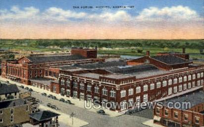 Forum - Wichita, Kansas KS Postcard