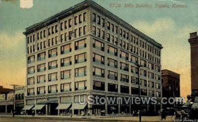 Mills Bldg - Topeka, Kansas KS Postcard