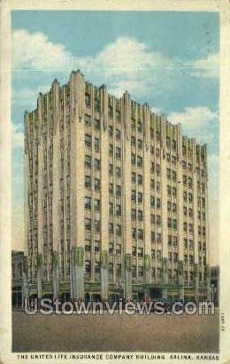 Unite Life Insurance Company - Salina, Kansas KS Postcard