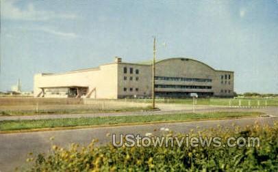 Hutchinson Sports Arena - Kansas KS Postcard