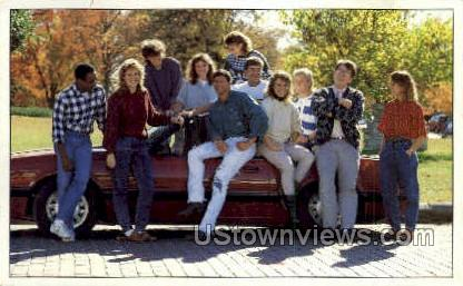 Baker University - Baldwin, Kansas KS Postcard