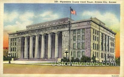 Court House - Kansas City Postcards, Kansas KS Postcard