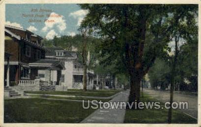 8th Street - Salina, Kansas KS Postcard
