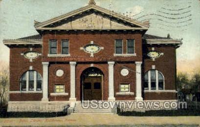 Public Library - Hutchinson, Kansas KS Postcard