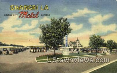 Shangril La - Dodge City, Kansas KS Postcard