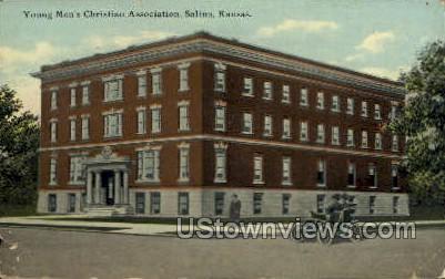 YMCA Christian Assoc - Salina, Kansas KS Postcard