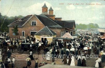 State Fair - Hutchinson, Kansas KS Postcard