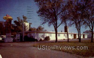 Lockhart Motel - Ellsworth, Kansas KS Postcard