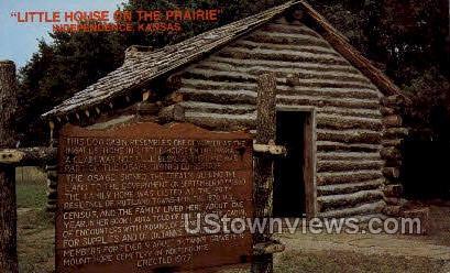 Little House on the Prairie - Independence, Kansas KS Postcard