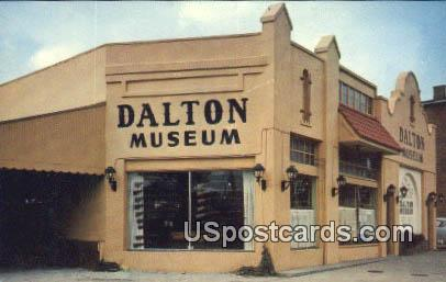 Dalton Museum - Coffeyville, Kansas KS Postcard