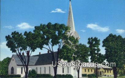 Bethany Evangelical Lutheran Church - Lindsborg, Kansas KS Postcard