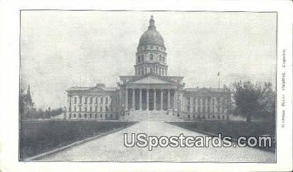 Kansas State Capitol - Topeka Postcard
