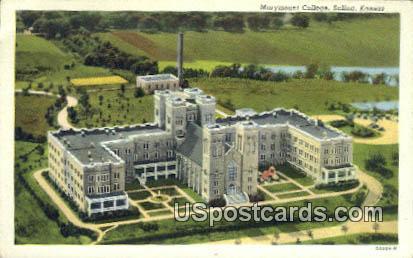 Marymount College - Salina, Kansas KS Postcard