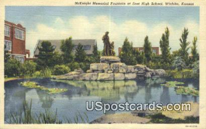 East High School - Wichita, Kansas KS Postcard