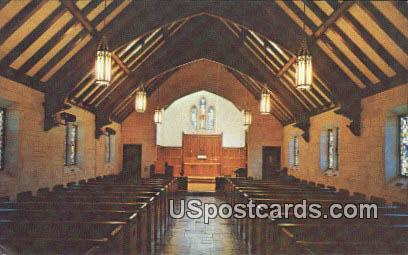 Wesley Memorial Chapel - Wichita, Kansas KS Postcard