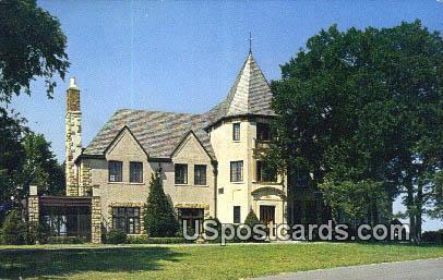 Cedar Crest - Topeka, Kansas KS Postcard