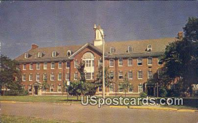 Science Hall, University of Wichita - Kansas KS Postcard