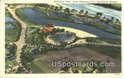 Carey Municipal Park - Hutchinson, Kansas KS Postcard