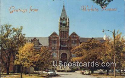 Wichita, Kansas Postcard     ;     Wichita, KS