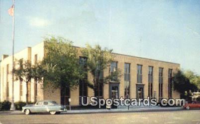 United States Post Office - Hutchinson, Kansas KS Postcard