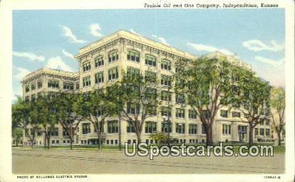 Prairie Oil & Gas Company - Independence, Kansas KS Postcard