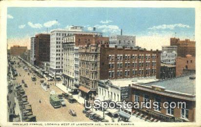 Douglas Avenue - Wichita, Kansas KS Postcard