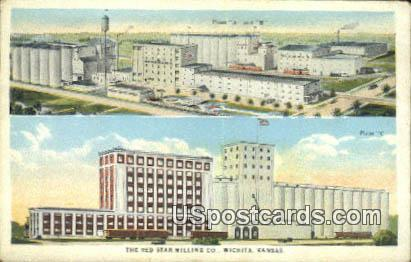 Red Star Milling Co - Wichita, Kansas KS Postcard